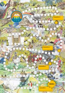 Raamattumaraton kartta
