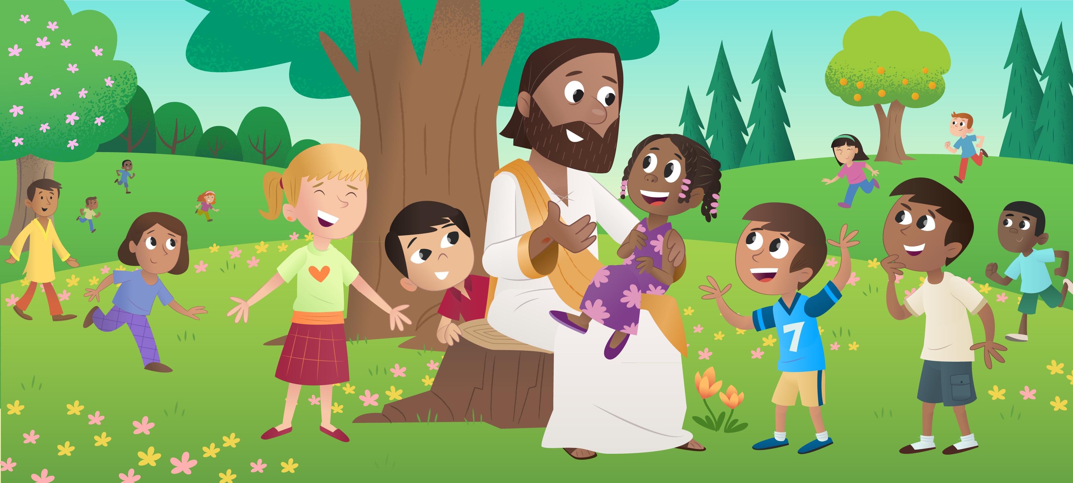 Uutta: Lasten Raamattusovellus