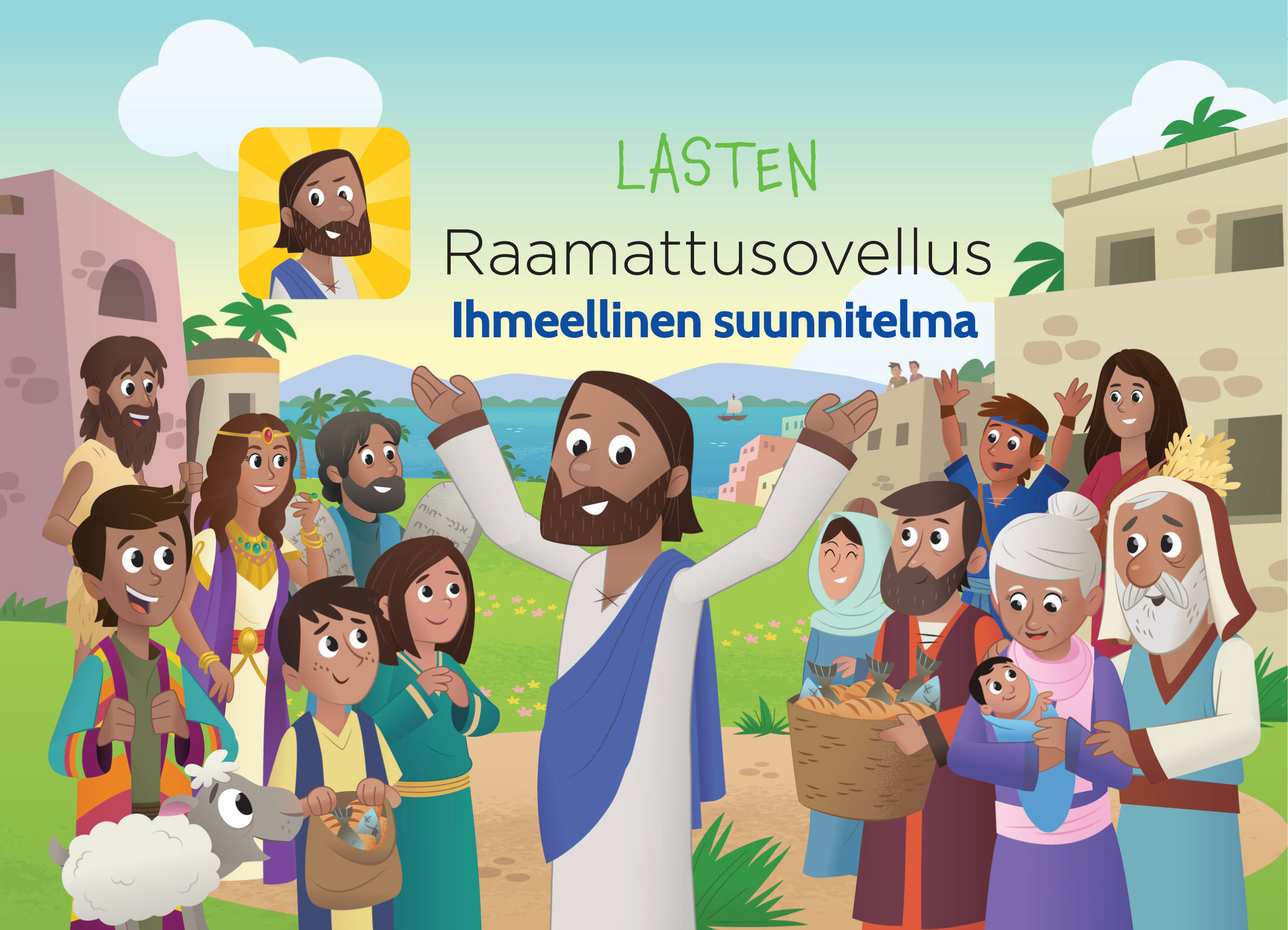 Pääsiäisen Sanomaa Lapsille