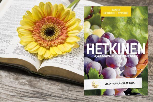 Raamattu ja Hetkinen 3-2018
