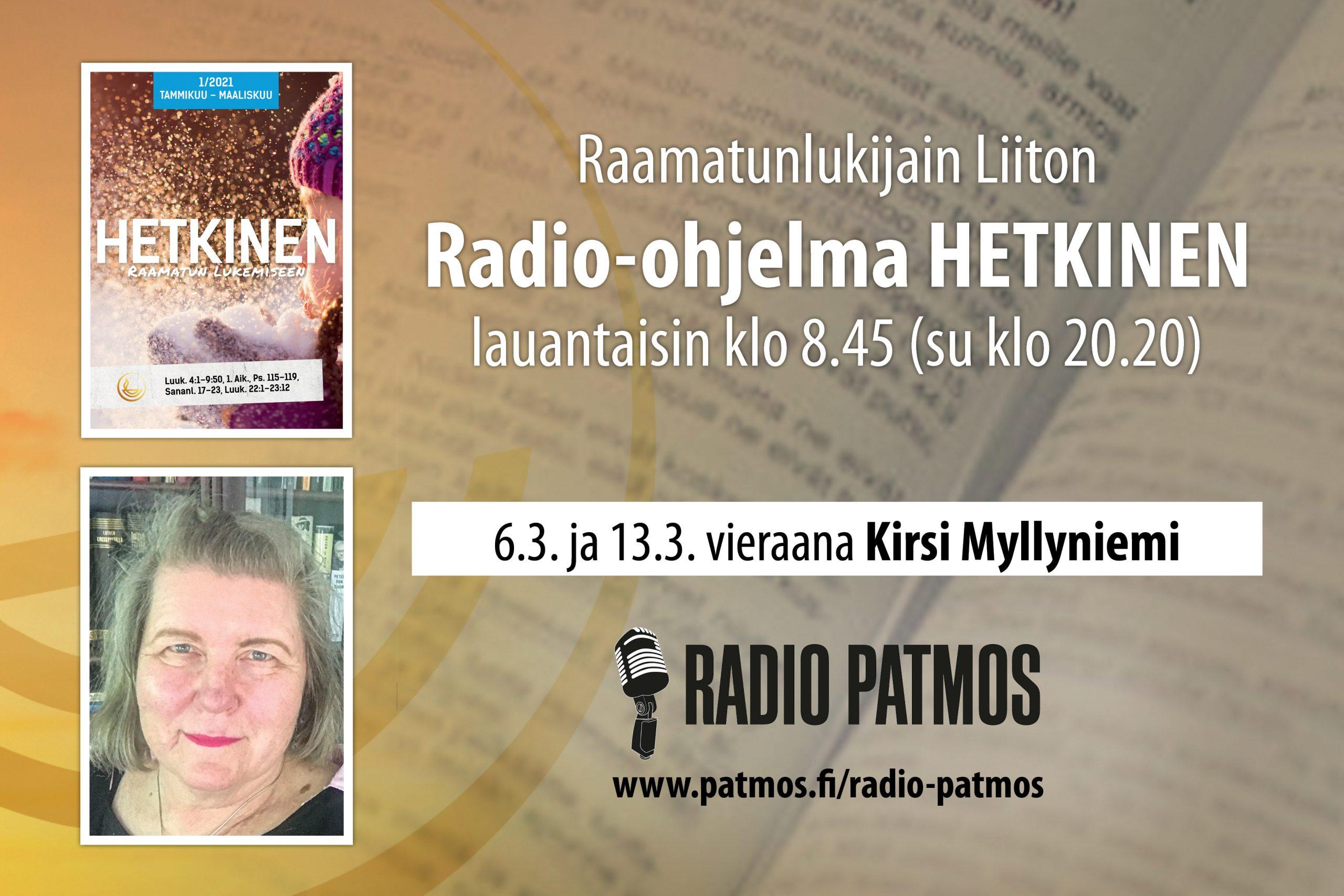 RadioHetkinen 20210306 Blogi